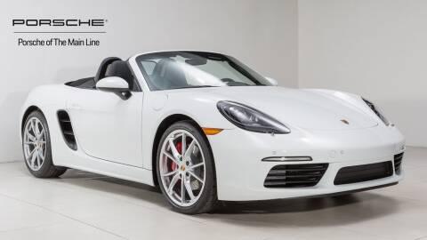 2018 Porsche 718 Boxster for sale in Newtown Square, PA