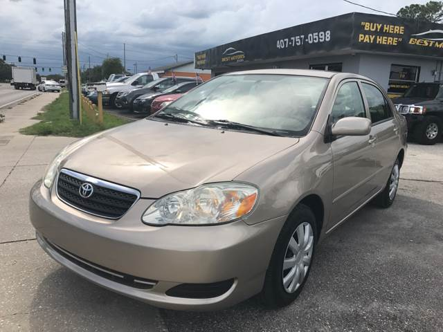 Wonderful 2005 Toyota Corolla For Sale At BEST MOTORS OF FLORIDA In Orlando FL