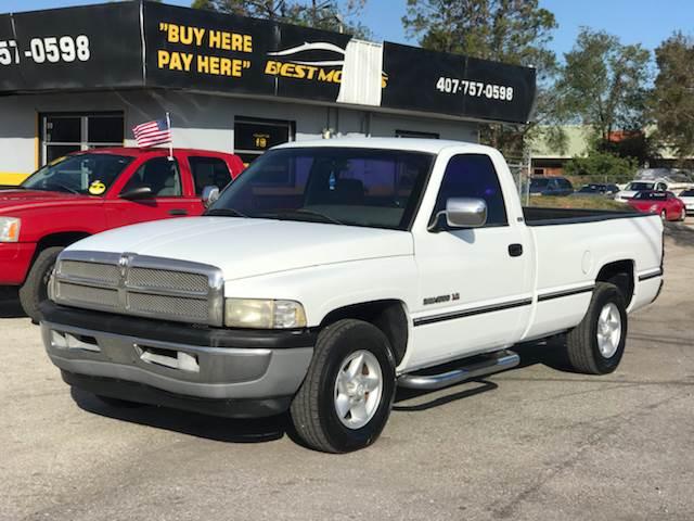 1997 Dodge Ram Pickup 1500 Laramie Slt In Orlando Fl Best Motors