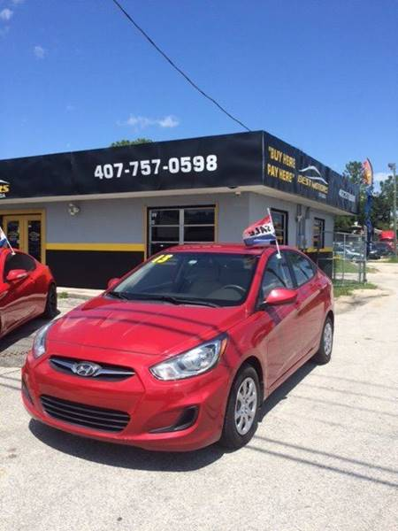 2013 hyundai accent in orlando fl best motors of florida. Black Bedroom Furniture Sets. Home Design Ideas