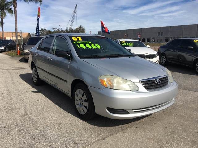 2007 Toyota Corolla For Sale At BEST MOTORS OF FLORIDA In Orlando FL