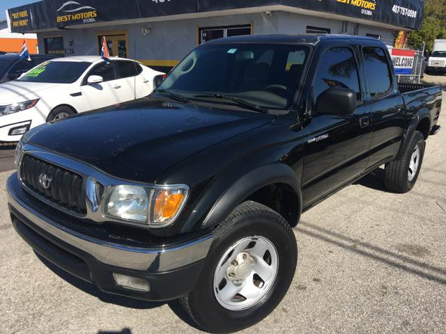 2002 Toyota Tacoma For Sale At BEST MOTORS OF FLORIDA In Orlando FL
