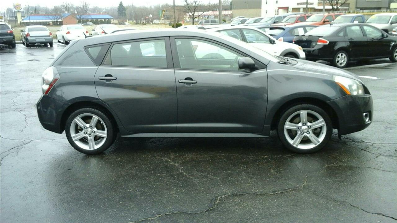 2009 PONTIAC VIBE 24L 4DR WAGON gray pontiac vibes are known to be one of the best cars made sp