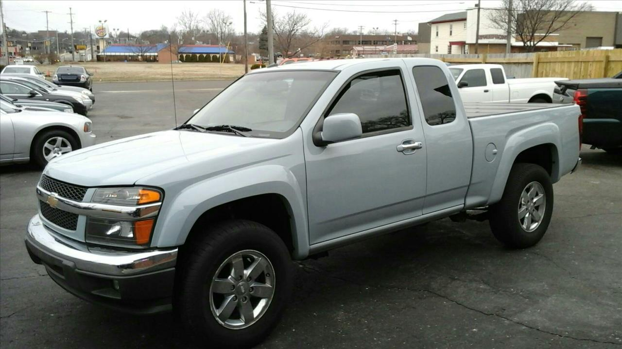 2010 CHEVROLET COLORADO LT 4X2 4DR EXTENDED CAB W2LT blue check this awesome chevy colorado out