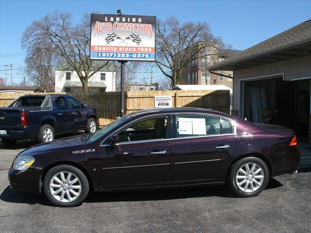 2008 BUICK LUCERNE CXS 4DR SEDAN purple air conditioning 4 wheel standard abs daytime running l