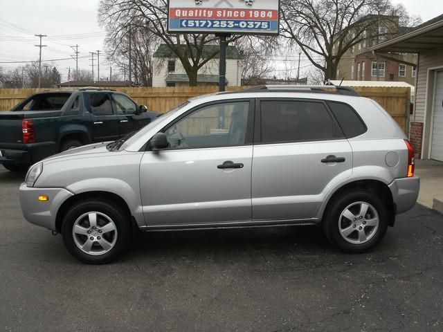 2008 HYUNDAI TUCSON GLS 4DR SUV silver 4 wheel standard abs power brakes power windows power s