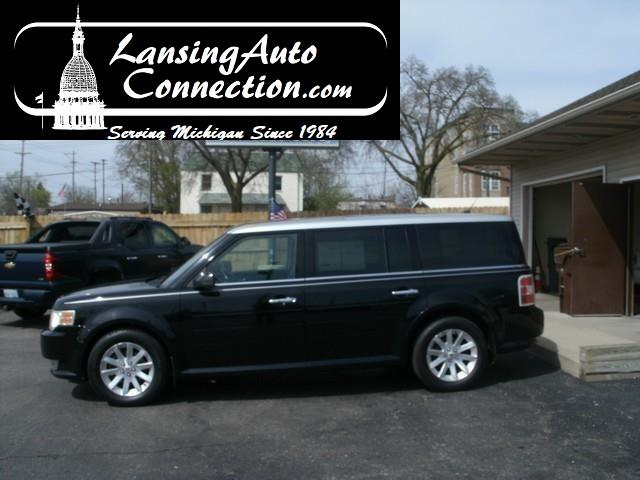 2009 FORD FLEX SEL CROSSOVER 4DR black what a deal this vehicle was over 40000 new you take