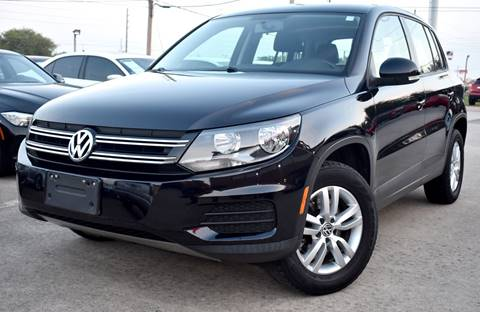 2013 Volkswagen Tiguan for sale in Houston, TX