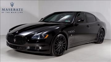 2011 Maserati Quattroporte for sale in Devon, PA