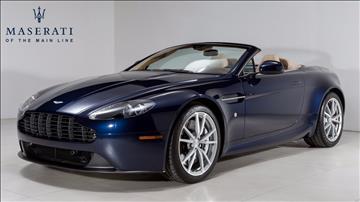 2014 Aston Martin V8 Vantage for sale in Devon, PA