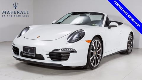 2016 Porsche 911 for sale in Devon, PA