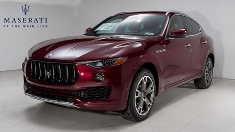 2017 Maserati Levante for sale in Devon, PA