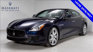 2015 Maserati Quattroporte for sale in Devon, PA