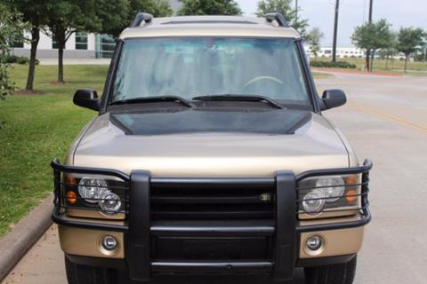 2004 Land Rover Discovery for sale in Cypress, TX