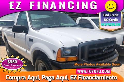 2001 Ford F-250 Super Duty for sale in Cypress, TX
