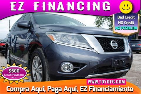 2013 Nissan Pathfinder for sale in Cypress, TX