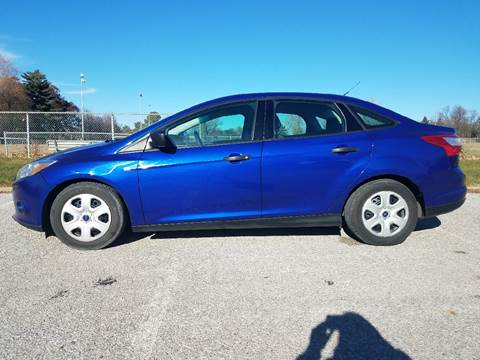 2012 Ford Focus for sale at Jodys Auto and Truck Sales in Omaha NE