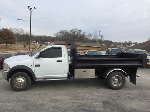2011 RAM Ram Chassis 5500 for sale at Jodys Auto and Truck Sales in Omaha NE