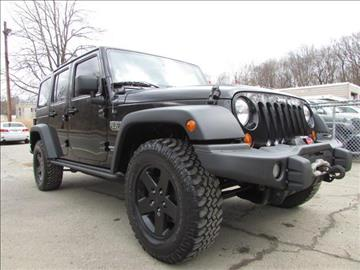 2012 Jeep Wrangler Unlimited for sale in Lake Hopatcong, NJ
