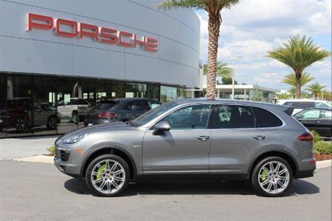 2016 Porsche Cayenne for sale in Ocala, FL
