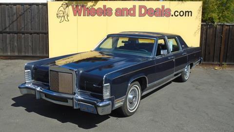 1979 Lincoln Continental for sale in Santa Clara, CA