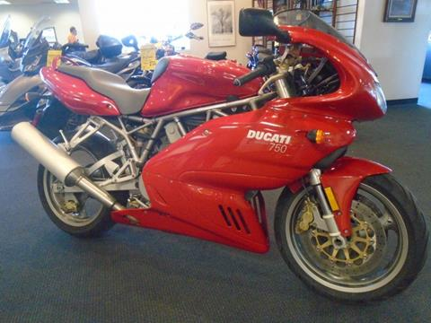 2002 Ducati 750 Supersport