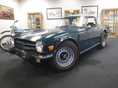 Wheels And Deals Santa Clara >> Used Triumph TR6 For Sale - Carsforsale.com®