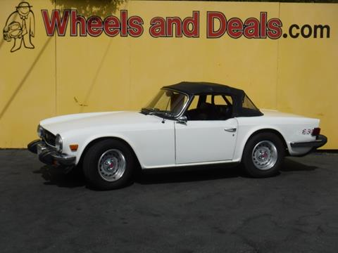 1976 Triumph TR6 for sale in Santa Clara, CA