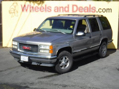 1999 GMC Yukon for sale in Santa Clara, CA
