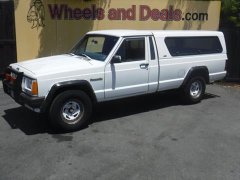 Wheels And Deals Santa Clara >> Used Jeep Comanche For Sale - Carsforsale.com®