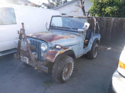 1972 Jeep CJ-5 for sale in Santa Clara, CA