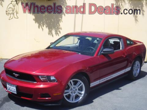 Used 2011 Ford Mustang For Sale In California Carsforsale Com