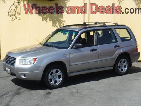 2007 Subaru Forester for sale in Santa Clara, CA