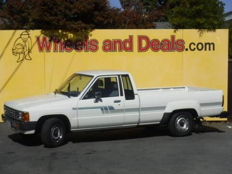 1986 Toyota Pickup Deluxe for sale at WHEELS AND DEALS in Santa Clara CA