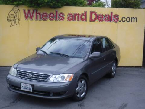 2003 Toyota Avalon for sale at WHEELS AND DEALS in Santa Clara CA