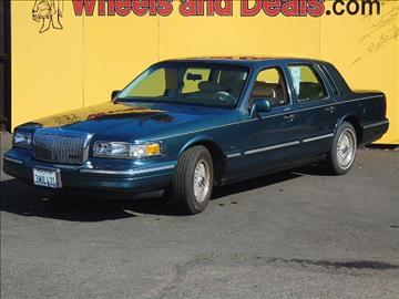 1996 Lincoln Town Car for sale in Santa Clara, CA