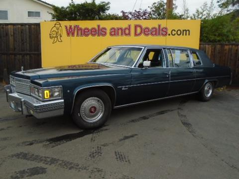 1979 Cadillac Fleetwood for sale in Santa Clara, CA