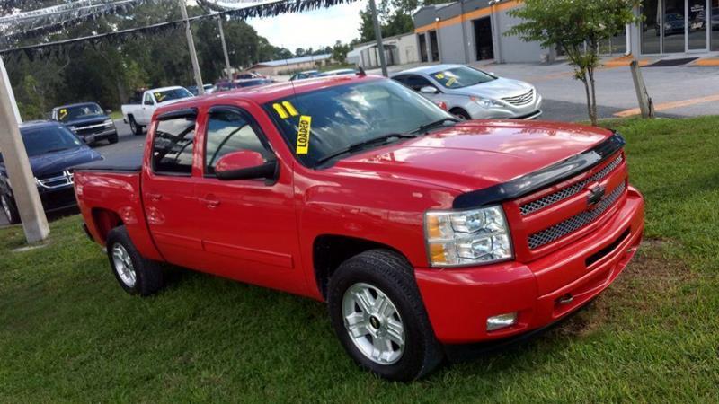 2011 Chevrolet Silverado 1500 4x2 LT 4dr Crew Cab 5.8 ft. SB - Lake City FL