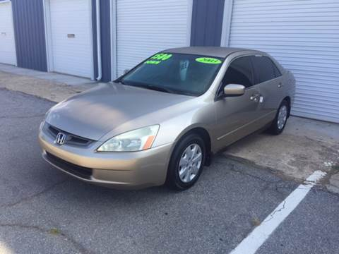 2003 Honda Accord for sale in Greenville, SC
