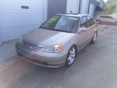 2002 Honda Civic for sale in Greenville, SC