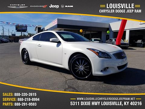 2014 Infiniti Q60 Coupe for sale in Louisville, KY