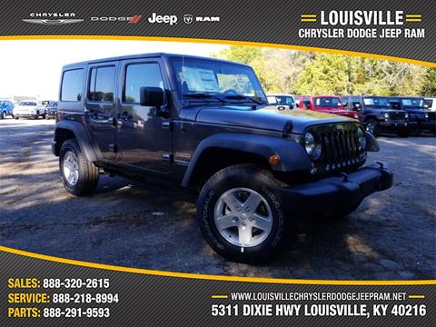 2017 Jeep Wrangler Unlimited for sale in Louisville, KY