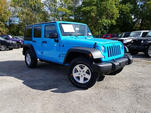 2018 Jeep Wrangler Unlimited for sale in Louisville, KY