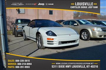 2001 Mitsubishi Eclipse Spyder for sale in Louisville, KY