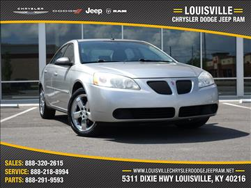 2008 Pontiac G6 for sale in Louisville, KY