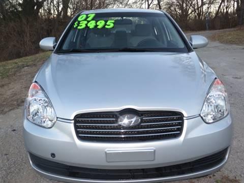 2007 Hyundai Accent for sale in Kansas City, KS