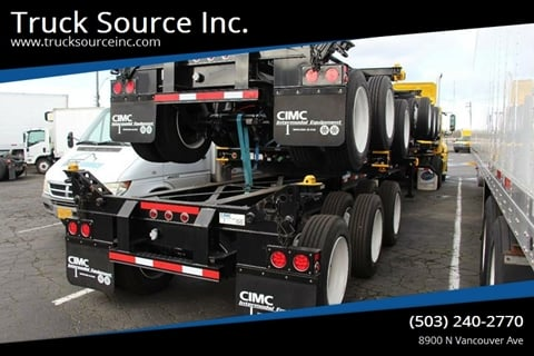 2021 CIMC 20/40 Combo Tridem for sale at Truck Source Inc. in Portland OR