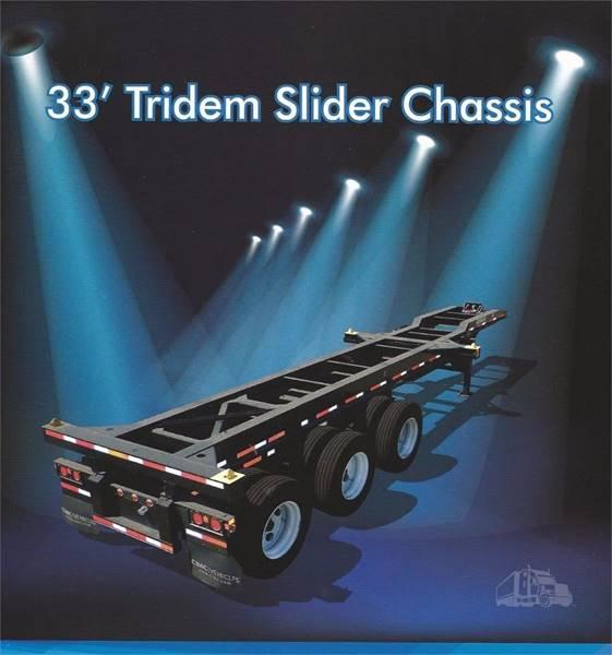 2021 CIMC 33' Tridem Slider for sale at Truck Source Inc. in Portland OR