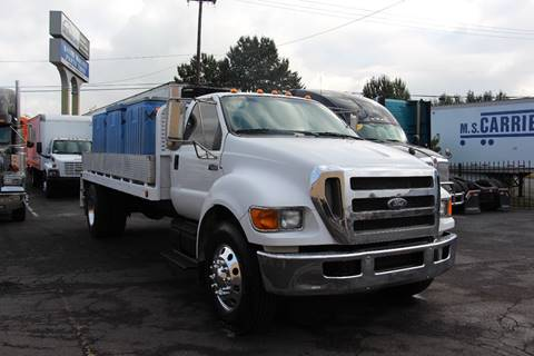 2010 Ford F-650 XL SUPER DUTY FLAT BED for sale in Portland, OR