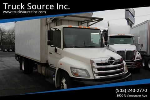 2012 Hino 338 S/A Reefer for sale at Truck Source Inc. in Portland OR